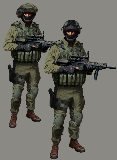 This is concept art from Counter Strike. while yes concept art can be made to look pretty, the true purpose is to quickly meld ideas for the director to decide.