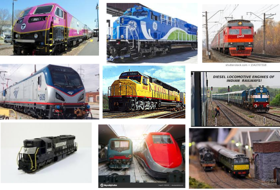In this made up example, let's say we want to have our concept artist design a somewhat realistic and modern looking train for some epic escape sequence.